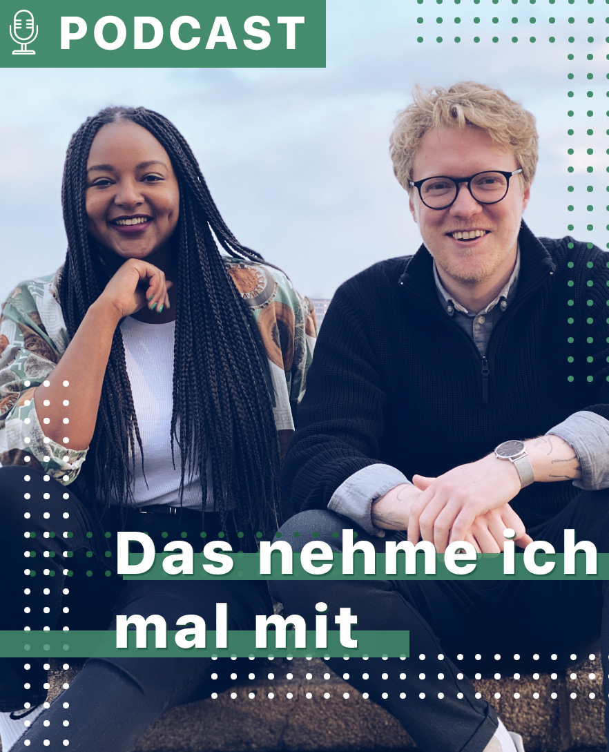 Das nehme ich mal mit Podcast von Aminata Touré und Lasse Petersdotter