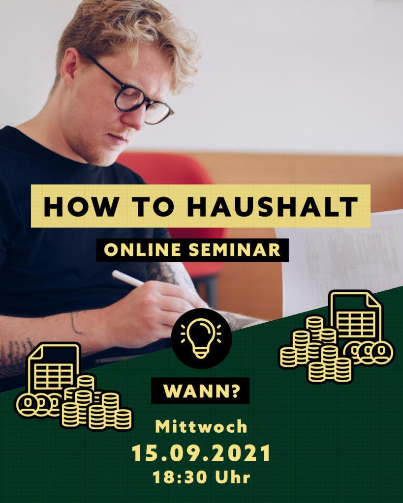 How To Haushalt Online-Seminar von MdL Lasse Petersdotter aus Schleswig-Holstein